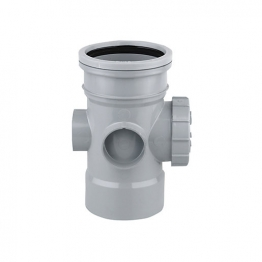 Osmasoil 110mm System Grey Access Pipe 4s374