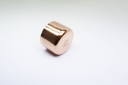 Jw Copper Endfeed Stop End 35mm