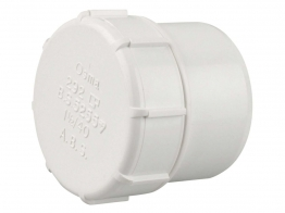 Osmaweld Waste White Access Plug 40mm
