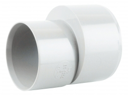 Osmaweld Waste White Reducer To 40mm 50mm