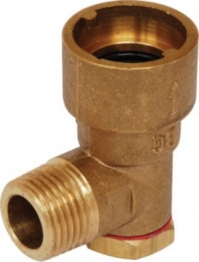 Gas Cooker Angled Bayonet Socket 1/2in