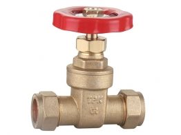 22mm Gate Valve Cxc Dzr Bs5154 Brass