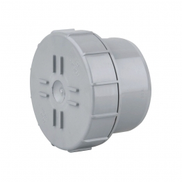 Osmasoil 6s292g Plain Ended Access Plug Grey 160mm