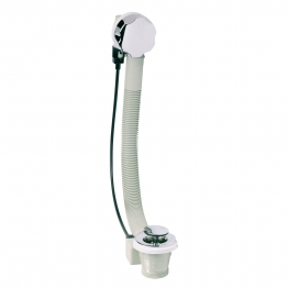 Embrass Peerless 200886 De-luxe Bath Pop Up Waste & Overflow Chrome Plated 1.5in