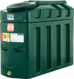 Harlequin 650ite High Specification Bunded Slimline Oil Tank Complete With Tankpack