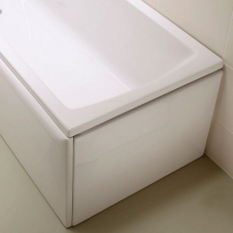 Vitra 54950001000 Neon Flat Bath End Panel 800mm