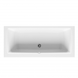 Vitra Neon Double Ended Bath 1800mm X 800mm