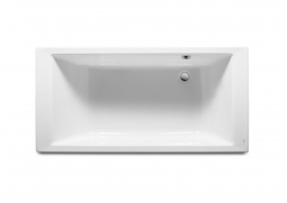 Roca 247592000 Vythos Bath White Double Ended 1800mm X 900mm
