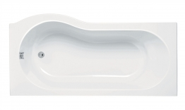 Iflo Rennes Evo P Shaped Shower Bath Right Hand 1700mm X 850mm