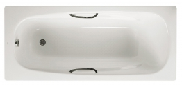 Roca A2375m3000 Carla Bath White 1600 X 700mm