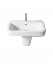 Roca A32751a000 Senso Square Vanity Or Wall Hung Basin 1 Tap Hole 650mm X 475mm