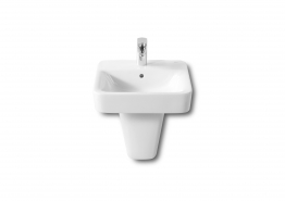 Roca 32751t000 Senso Square Basin 1 Tap Hole 450mm X 440mm