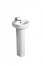Ideal Standard J468001 Playa Semi-pedestal Small For Use With 450mm Basin White