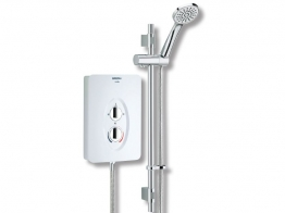 Bristan Smile Sm285 With Electric Shower White