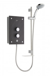 Mira 1.1634.117 Galena Thermostatic Electric Shower Slate Effect 9.8kw