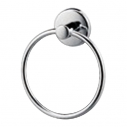 Iflo Ascot Towel Ring Chrome Effect