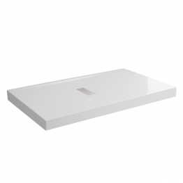 Novellini Cu120mm9011 30 Custom Shower Tray White 1200mm X 900mm X 120mm