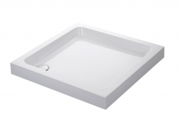 Mira Flight 1.1783.005.wh Shower Tray 0 Upstands And Waste 800x800mm