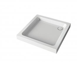 Mira Flight 1.1783.004.wh Shower Tray 4 Upstands And Waste 760x760mm