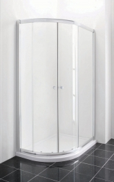 Iflo 1200 X 800 Mm Left Hand Offset Quadrant Abs Slimline Shower Tray