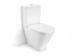 Roca 34273700h Cleanrim The Gap Close-coupled Pan Moulded Back-to-wall