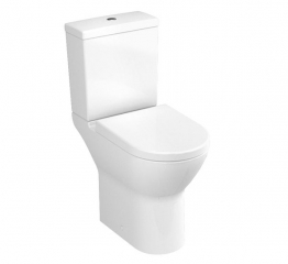 Vitra S50 Compact Close Coupled Wc Pan (open Back) 5424l003-7200