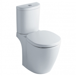 Ideal Standard T327601 Tempo Close Coupled Wc Pan With Horizontal Outlet White