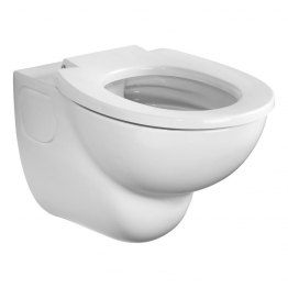 Armitage Shanks S307601 Contour 21 Rimless Wall Mounted Wc Pan With Horizontal Outlet White