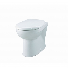 Twyford Gn1438wh New Galerie/view Back To Wall Pan White