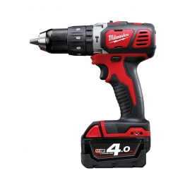 Milwaukee M18bpd-402c 18v Combi Drill With 2 X 4ah Batteries