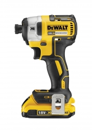 Dewalt Dcf887d2 Impact Driver 18v Xr Brushless Lithium-ion 3 Speed With Multi-voltage Charger, 2 X 2.0ah Batteries And Tstak Box