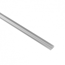 Iflo Laminate Wall Panelling End Cap Polished Silver