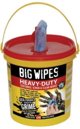 Big Wipes 4x4 Heavy Duty Wipes Mega Tub Pack 240