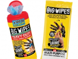 Big Wipes 4 X 4 Heavy Duty Wipes 25% Extra Free + 40 Multi Wipes Free