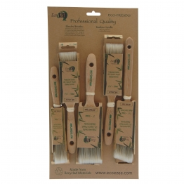 Eco Ezee 5 Brush Paint Set 1/2in X 1.5in X 2in X 1.5in