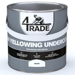 4trade Non Yellowing Undercoat 2.5l White