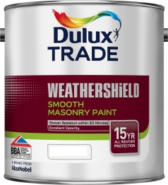 Dulux Trade Weathershield Smooth Tinted Colour 2.5l