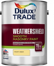 Dulux Smooth Masonry Paint County Cream 5l