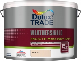 Dulux Paint Smooth Masonry Paint Magnolia 10l