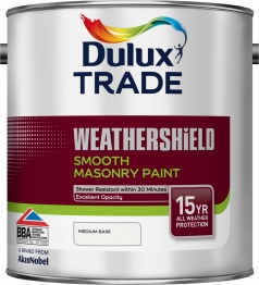 Dulux Colour Dimensions Weathershield Smooth Masonry Paint Medium 2.5l
