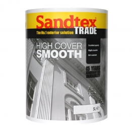 Sandtex Masonry Paint High Cover Smooth Beige 5l