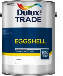 Dulux Paint Trade Eggshell White 5l
