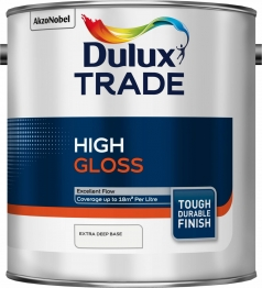 Dulux Trade Gloss Extra Deep Paint Colour Dimensions 2.5l