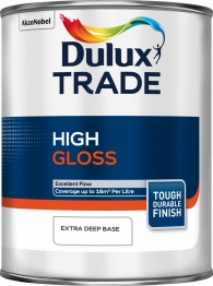 Dulux Trade Gloss Extra Deep Paint Colour Dimensions 1l