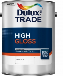 Dulux Paint Colour Dimensions Trade Gloss Light 5l