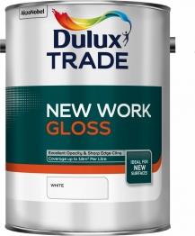 Dulux New Work Gloss White 5l