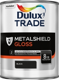 Dulux Metalshield Gloss Black 1l