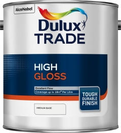Dulux Paint Colour Dimensions Trade Gloss Medium 2.5l
