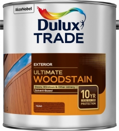 Dulux Trade Weathershield Ultimate Woodstain Teak 2.5l