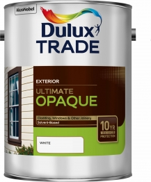 Dulux Trade Weathershield Ultimate Opaque White 5l
